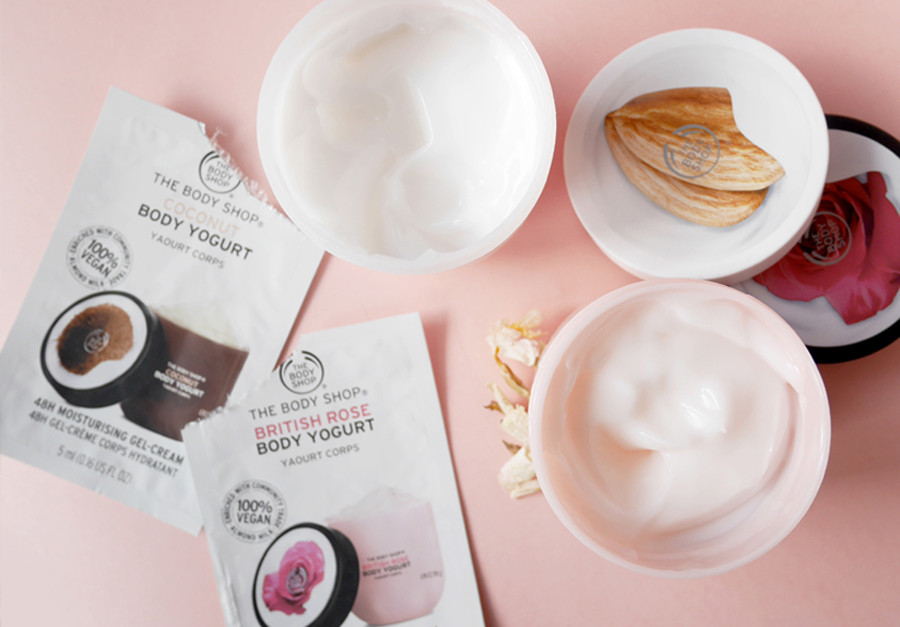 J'ai testé les Body Yogurts de The Body Shop